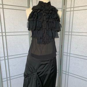 L.A.M.B. Shoulder Baring Silk Blouse